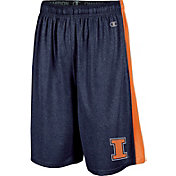 Champion Men's Illinois Fighting Illini Blue Training Shorts