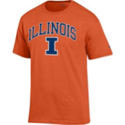 Champion Men's Illinois Fighting Illini Orange Big Soft T-Shirt
