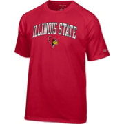 Champion Men's Illinois State Redbirds Red Logo T-Shirt
