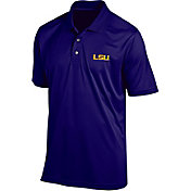 Champion Men's LSU Tigers Purple Classic Polo