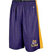 Champion Men's LSU Tigers Purple Training Shorts