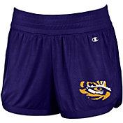 Champion Women's LSU Tigers Purple Endurance Shorts