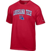 Champion Men's Louisiana Tech Bulldogs Red Logo T-Shirt