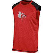 Champion Men's Louisville Cardinals Cardinal Red Muscle Tee