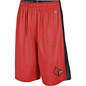 Champion Men's Louisville Cardinals Cardinal Red Training Shorts
