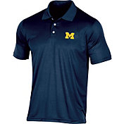 Champion Men's Michigan Wolverines Blue Classic Polo