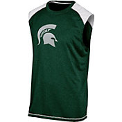 Champion Men's Michigan State Spartans Green Muscle Tee