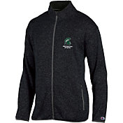 Champion Men's Michigan State Spartans Grey Playbook Full-Zip Jacket