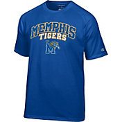 Champion Men's Memphis Tigers Blue T-Shirt