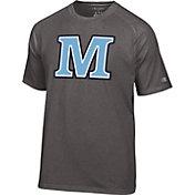 Champion Men's Maine Black Bears Grey Big Logo T-Shirt