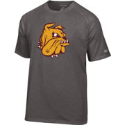 Champion Men's Minnesota-Duluth Bulldogs Grey Big Logo T-Shirt