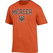 Champion Men's Mercer Bears Orange Big Soft T-Shirt