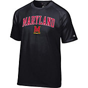 Champion Men's Maryland Terrapins Black Word Logo T-Shirt