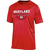 Champion Men's Maryland Terrapins Red Training T-Shirt