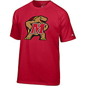 Champion Men's Maryland Terrapins Red Big Logo T-Shirt