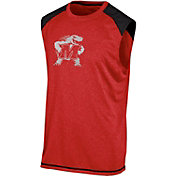 Champion Men's Maryland Terrapins Red Muscle Tee
