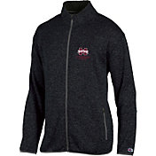Champion Men's Mississippi State Bulldogs Grey Playbook Full-Zip Jacket