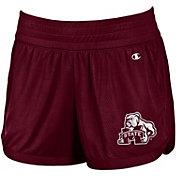 Champion Women's Mississippi State Bulldogs Maroon Endurance Shorts
