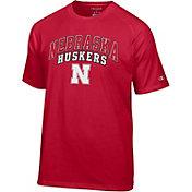 Champion Men's Nebraska Cornhuskers Red T-Shirt