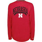 Champion Nebraska Cornhuskers Scarlet Pursuit Long Sleeve Shirt