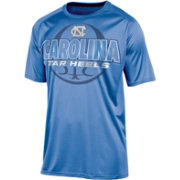 Champion Men's North Carolina Tar Heels Carolina Blue High Impact Basketball T-Shirt