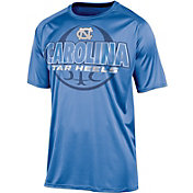 Champion Men's North Carolina Tar Heels Carolina Blue Impact Basketball T-Shirt