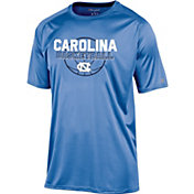 Champion Men's North Carolina Tar Heels Carolina Blue Training T-Shirt