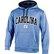 Champion Men's North Carolina Tar Heels Carolina Blue T-Formation Pullover Hoodie