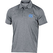 Champion Men's North Carolina Tar Heels Grey Classic Polo