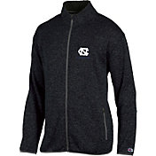 Champion Men's North Carolina Tar Heels Grey Playbook Full-Zip Jacket