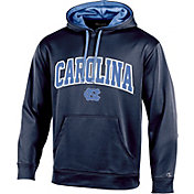 Champion Men's North Carolina Tar Heels Navy T-Formation Pullover Hoodie