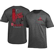 Champion Men's North Carolina State Wolfpack Grey Fan T-Shirt