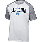 Champion Men's North Carolina Tar Heels White Word Logo T-Shirt