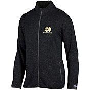 Champion Men's Notre Dame Fighting Irish Grey Playbook Full-Zip Jacket