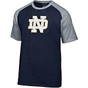 Champion Men's Notre Dame Fighting Irish Navy Big Logo T-Shirt