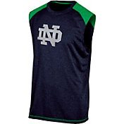 Champion Men's Notre Dame Fighting Irish Navy Muscle Tee
