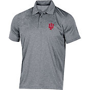 Champion Men's Indiana Hoosiers Grey Classic Polo