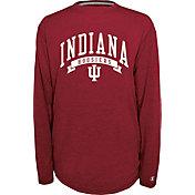 Champion Men's Indiana Hoosiers Crimson Pursuit Long Sleeve Shirt
