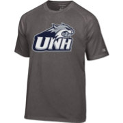Champion Men's New Hampshire Wildcats Grey Big Logo T-Shirt