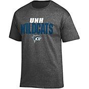 Champion Men's New Hampshire Wildcats Grey Big Soft T-Shirt