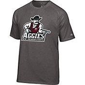 Champion Men's New Mexico State Aggies Grey Big Logo T-Shirt