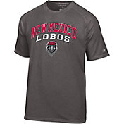 Champion Men's New Mexico Lobos Grey T-Shirt