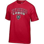 Champion Men's New Mexico Lobos Cherry T-Shirt