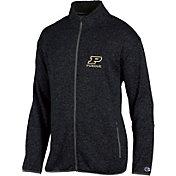 Champion Men's Purdue Boilermakers Grey Playbook Full-Zip Jacket
