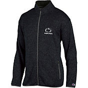 Champion Men's Penn State Nittany Lions Grey Playbook Full-Zip Jacket