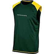 Champion Men's Oregon Ducks Green Muscle Tee