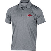 Champion Men's Arkansas Razorbacks Grey Classic Polo