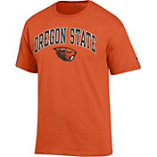 Champion Men's Oregon State Beavers Orange Big Soft T-Shirt