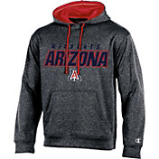 Champion Men's Arizona Wildcats Grey T-Formation Hoodie