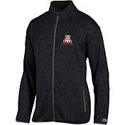 Champion Men's Arizona Wildcats Grey Playbook Full-Zip Jacket